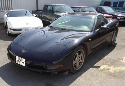 CHEVROLET corvette  modele 1998