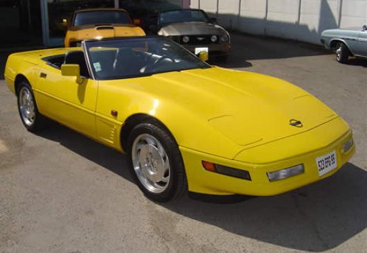 CHEVROLET corvette lt4 330cv gran sport