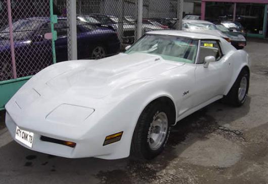 CHEVROLET corvette big bloc coupe t top
