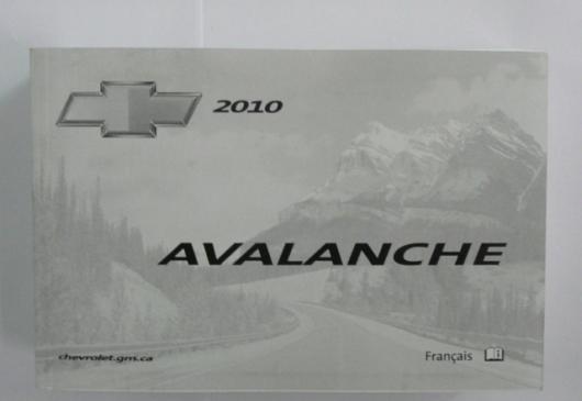 Avalanche 2010 origine en français