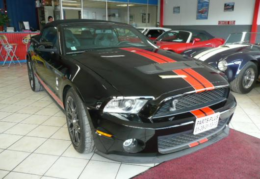 SHELBY GT500 Cabriolet nbses options