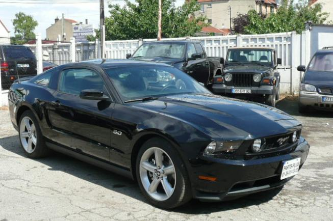 ford mustang gt premium 2011 v8 5 0l 412ch bvm coup s sportives nos v hicules accueil. Black Bedroom Furniture Sets. Home Design Ideas